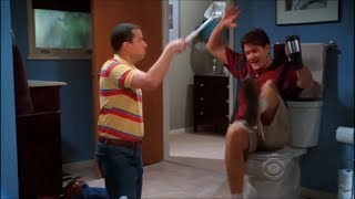 getlinkyoutube.com-Two and a Half Men - Changing the Litter Box [HD]
