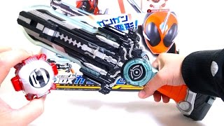 getlinkyoutube.com-【仮面ライダーゴースト】DX ガンガンセイバー 4モード変形 ヲタファの遊び方レビュー Kamen Rider Ghost DX Gan Gun Saber