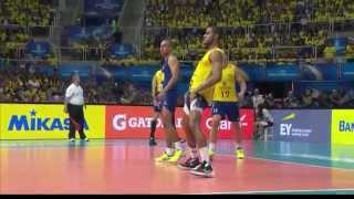 getlinkyoutube.com-FIVB Volleyball World League Finals 2015  Brazil vs France   15 Jul