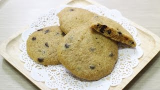getlinkyoutube.com-노오븐 전자렌지 초코칩 쿠키 만들기 /  No Oven Chocolate Chip Cookies