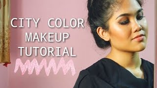 One Brand Tutorial - CITY COLOR COSMETICS❀