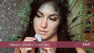 getlinkyoutube.com-Halloween tutorial x Wood Fairy | Teske