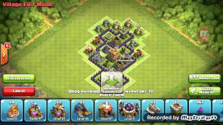 getlinkyoutube.com-Clash of Clans - Layout Híbrido CV 5 (Push/Farm)