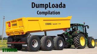 Stronga DumpLoada 1000HP Half Pipe trailer