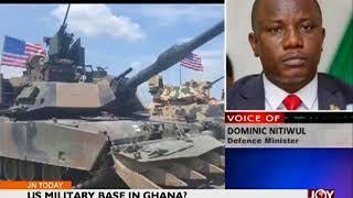 US Military Base In Ghana? - Joy News Today (20-3-18)
