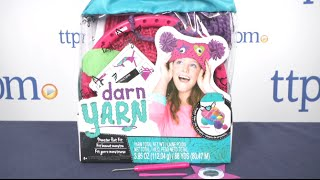 getlinkyoutube.com-Darn Yarn Monster Hat Kit from Fashion Angels