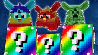 getlinkyoutube.com-Minecraft: LUCKY BLOCKS RAINBOW | EJÉRCITO FURBY | Desafío de la Suerte Especial - #60