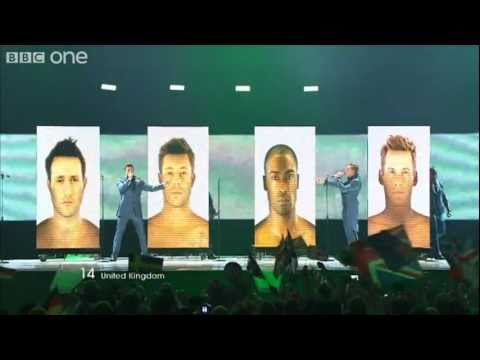 "UK: ""I Can"", Blue - Eurovision Song Contest Final 2011 - BBC One"