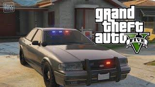 getlinkyoutube.com-GTA 5 Online: Undercover Cop Car & How To Store Police Vehicles (GTA V)