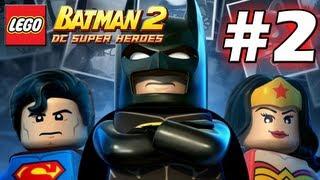 getlinkyoutube.com-LEGO Batman 2 : DC Super Heroes Episode 2 - Harbouring a Criminal (HD) (Gameplay)
