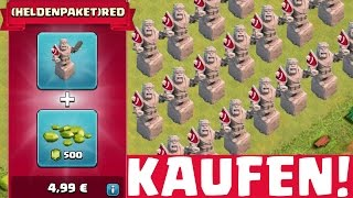getlinkyoutube.com-HELDENPAKET KAUFEN! || CLASH OF CLANS || Let's Play CoC [Deutsch/German HD+]