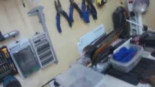getlinkyoutube.com-Мастерская в квартире. Часть 1. Locksmith's workshop at home. Part 1.