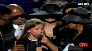 getlinkyoutube.com-Jackson family say their final goodbye to Michael Jackson