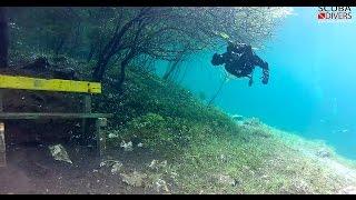 getlinkyoutube.com-Grüner See (Green Lake) Scuba Diving 2013 - Austria