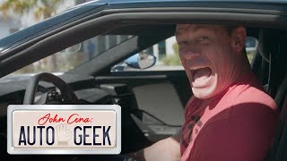 John Cena gets SPOOKED by a Ford GT's Frankenstein ROAR! - John Cena: Auto Geek