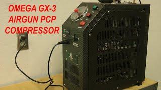 getlinkyoutube.com-Airgun PCP Compressor - Home - Office - Omega GX3 - Supercharger