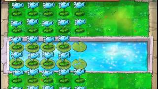 getlinkyoutube.com-Plants Vs Zombies Snow Pea Madness