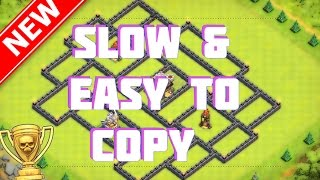 getlinkyoutube.com-Easy To Copy The Supreme Series   New BEST Th11 Trophy/War Base - Clash Of Clans