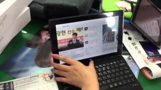 getlinkyoutube.com-윈도우 태블릿pc 늑여탭 울프10을 소개합니다