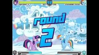 getlinkyoutube.com-FightingIsMagic balance mod:Twilight Sparkle arcade