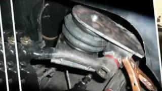 "getlinkyoutube.com-Air ride VW bug Three Wheel 12"" High!!"