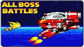 getlinkyoutube.com-Sonic The Hedgehog : Pocket Adventure - All Bosses (No Damage)