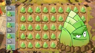 getlinkyoutube.com-Plants Vs Zombies 2 Una Multitud de Bambú Derrotan a los Zombies