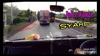Goyangan Syahdu Truck POLICE WOMAM Soooss