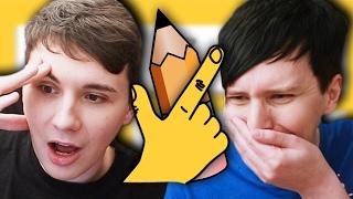 getlinkyoutube.com-Dan vs. Phil: QUICK DRAW!