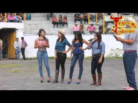 Candidatas a Chica Jaripeo 2014, La Almoloyan de Colima.