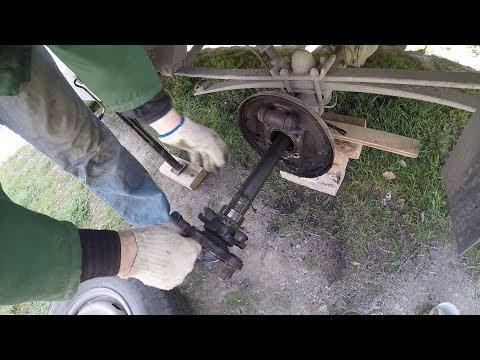 Замена ступичного заднего подшипника на VW LT28 на мосту. ПОДГОТОВКА КЕМПЕРА К СЕЗОНУ 2019