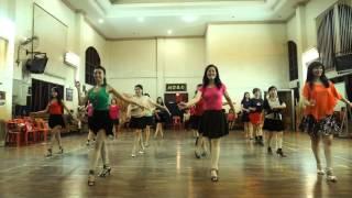 getlinkyoutube.com-Selendang Sutra Line Dance - Yona (ILDI) Jan 2015