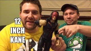 getlinkyoutube.com-A 12 Inch KANE in the ASS!! WWE Mattel Wrestling Action Insider Figure Review