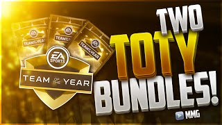 TWO Team of the Year Bundles! TOTY Bundle Opening! Madden Mobile 16