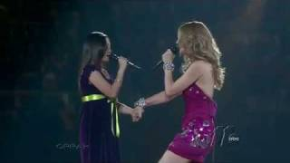 getlinkyoutube.com-Charice and Celine Dion duet at Madison Square Garden (HD)