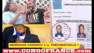 WERRASON CANDIDAT à la  PRÉSIDENTIELLE Aux Elections 2018 , ATIKI MUSIQUE ?? BOTALA