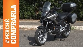 Honda NC750X DCT 2016 Travel Edition| Perché comprarla... e perché no