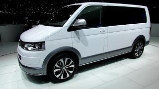 getlinkyoutube.com-2014 Volkswagen Multivan Alltrack - Exterior and Interior Walkaround - 2014 Geneva Motor Show