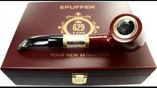 getlinkyoutube.com-ePuffer: E-Pipe 629 Starter Kit Review