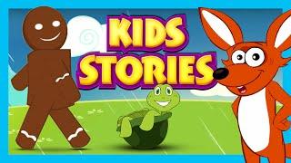 KIDS STORIES - THE GINGERBREAD MAN & MORE STORIES   KIDS STORIES IN ENGLISH   KIDS HUT