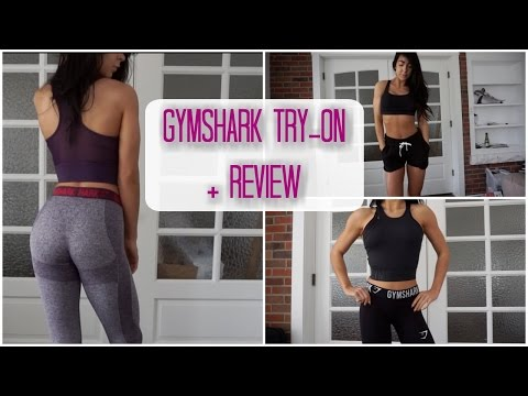 GYMSHARK TRY-ON + REVIEW