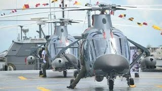 Philippine Navy Acquires AW-109 Naval Attack Choppers and Landing Crafts