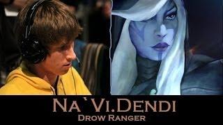 getlinkyoutube.com-Na`Vi.Dendi Gameplay in Dota 2 on Drow Ranger KDA 22/13/17 FULL GAME