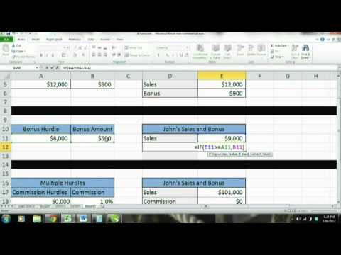 Microsoft Excel 2010 Tutorial for Beginners: IF FUNCTION, Logical test, if then