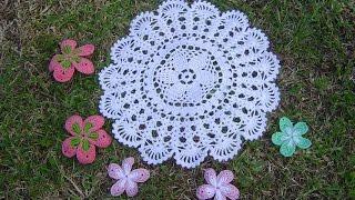 getlinkyoutube.com-Como Aprender a tejer carpeta Fácil, a crochet paso a paso DIY parte 1/2