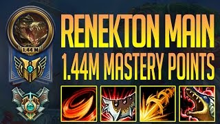 雷尼克頓 MONTAGE - 1.44 MILLION MASTERY POINTS