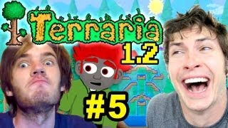 getlinkyoutube.com-Terraria 1.2 - PEWDIEPIE IS LORD