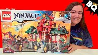 getlinkyoutube.com-LEGO Ninjago Battle for Ninjago City 70728 Speed Build & Review