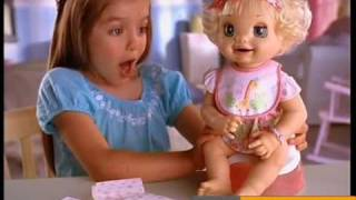 getlinkyoutube.com-Available at Poppies - Baby Alive Learns to Potty