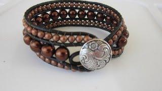 getlinkyoutube.com-Double Bracelet.  Двойной  Браслет